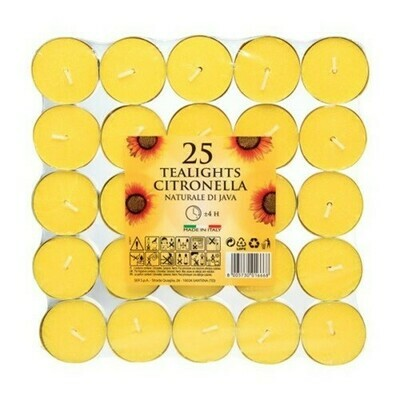 Citronella Tealights x 25