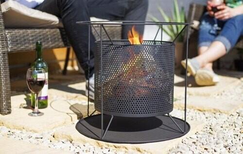 Kora Perforated Firebasket
