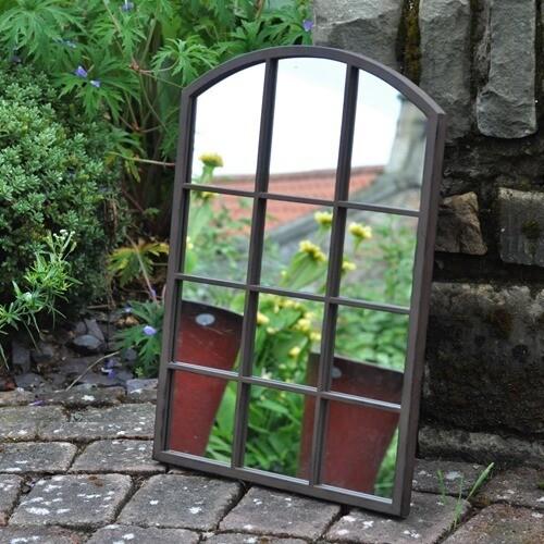 Region Metal Outdoor Mirror
