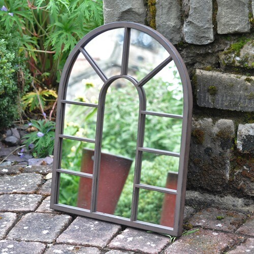 Urban Metal Outdoor Mirror