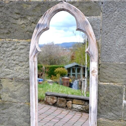 St Martin Gothic Garden Mirror