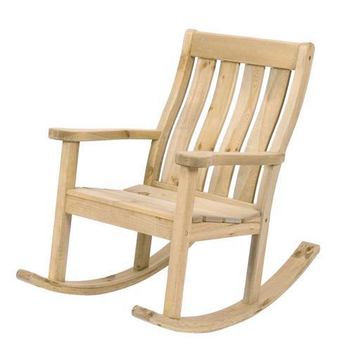 Pine Farmers Rocking Chair (311)