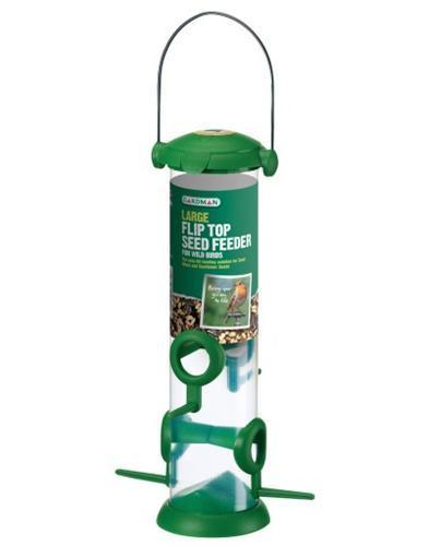 Large Flip Top Seed Feeder A01235