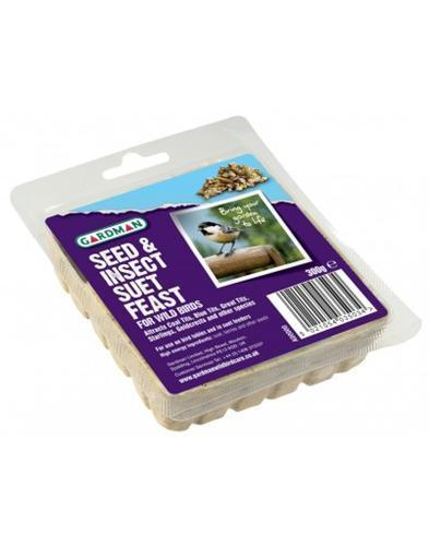 Seed & Insect Suet Feast A04108D