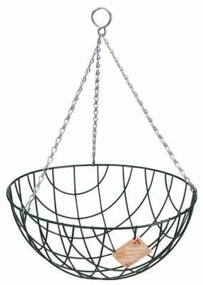 "30cm (12"") Traditional Wire Hanging Basket"