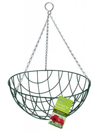 "35cm (14"") Traditional Hanging Basket"