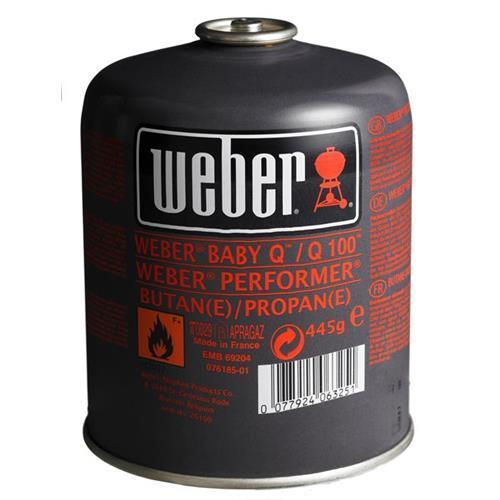 Weber Disposable Gas Canister 445g (26100)