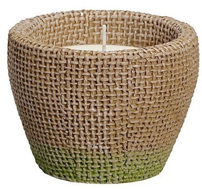 Citronella and Basil Scented Candle