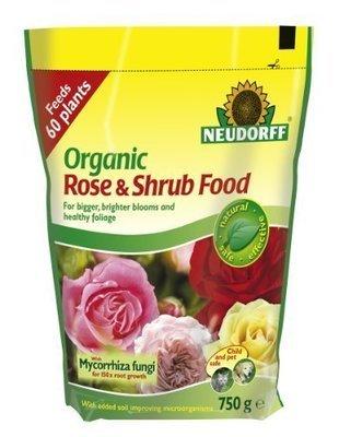 Organic Rose and Shrub Plant Food 750g