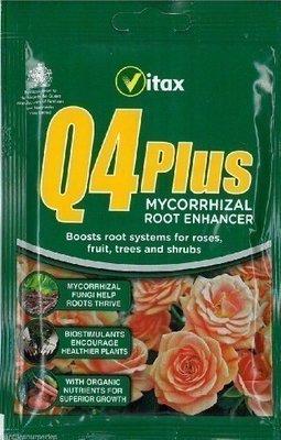 Q4 PLUS Mycorrhizal Root Enhancer 60g
