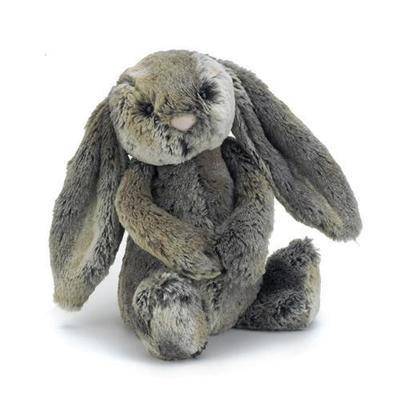 Bashful Cottontail Bunny - Medium