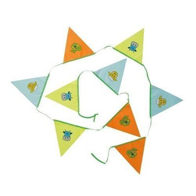 Kids Bunting - 9 flags