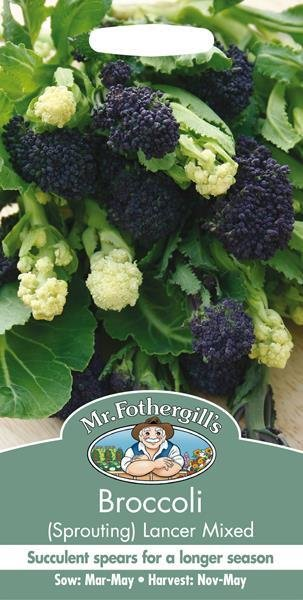 Broccoli (Sprouting) Lancer Mixed Seeds