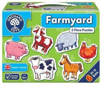 1st Jigsaw Puzzle - Farmyard