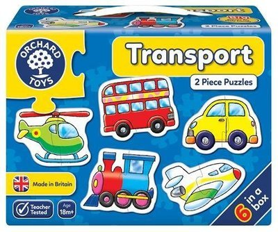 1st Jigsaw Puzzle - Transport