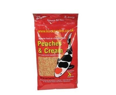 Kockney Koi Peaches and Cream 2.5Kg