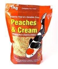 Kockney Koi Peaches and Cream Food 1Kg