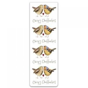 Bookmark - Chirpy Chaffinches