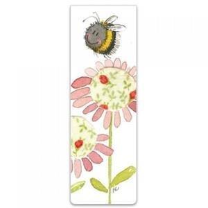 Bookmark - Bee & Flower