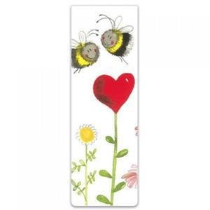 Bookmark - Love Heart Bees