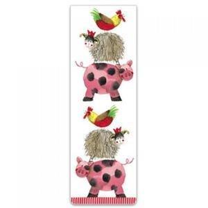 Bookmark - Farmyard Acrobats