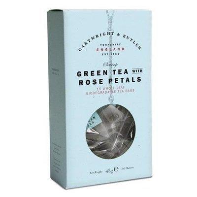 C and B Soursop Green Tea Carton Whole Leaf Tea Bags