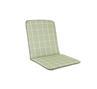 Savita Chair Cushion - Sage Check