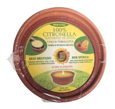 Price's Citronella - Large Terracotta Pot