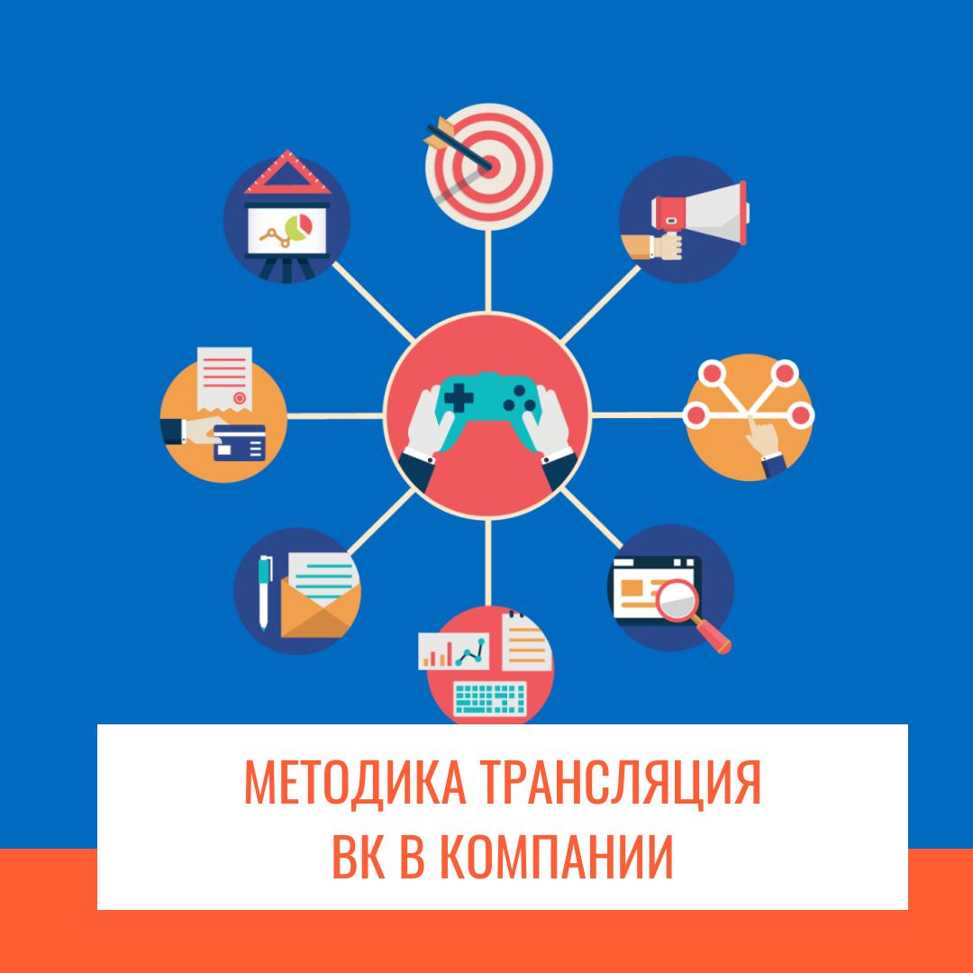 Методика трансляция ВК в компании