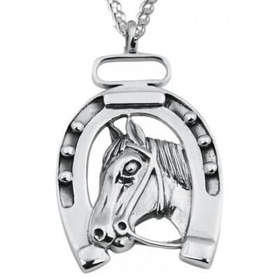 Lucky Horse Head Pendant