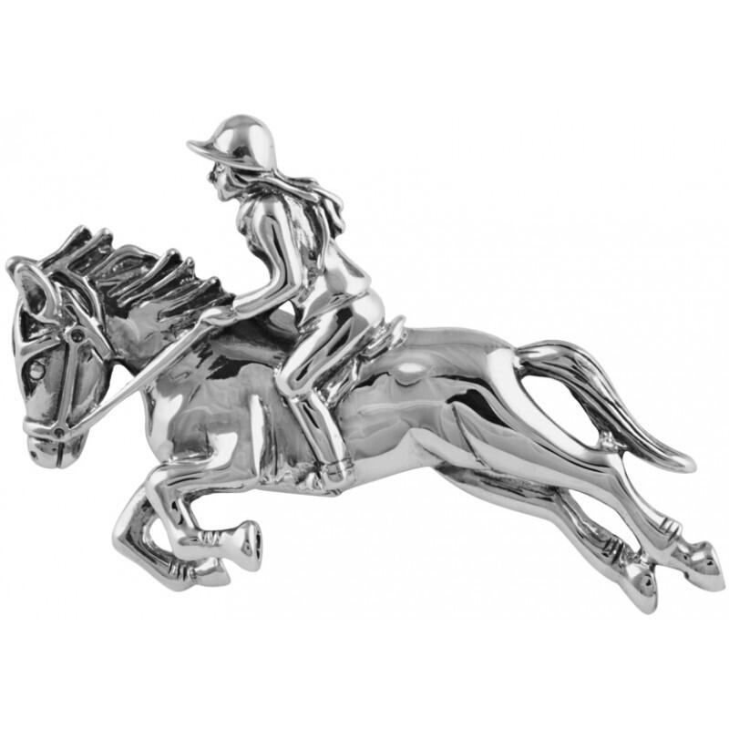 Horse Rider Brooch