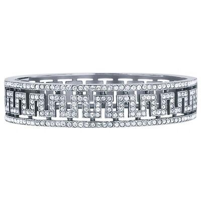 Sterling Silver & Crystal Bracelet