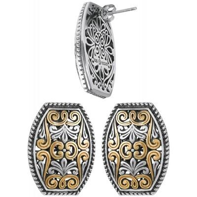 Gold Plated Filigree Earrings