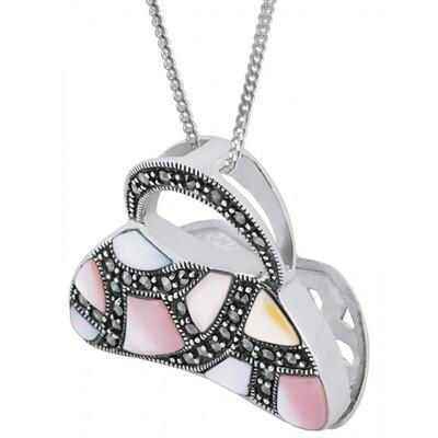 Silver Purse Pendant