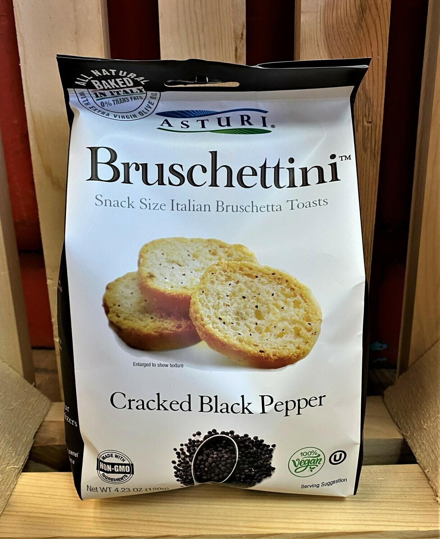 BRUSCHETTINI BLACK PEPPER