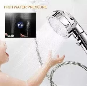 3 In 1 High Pressure Showerhead