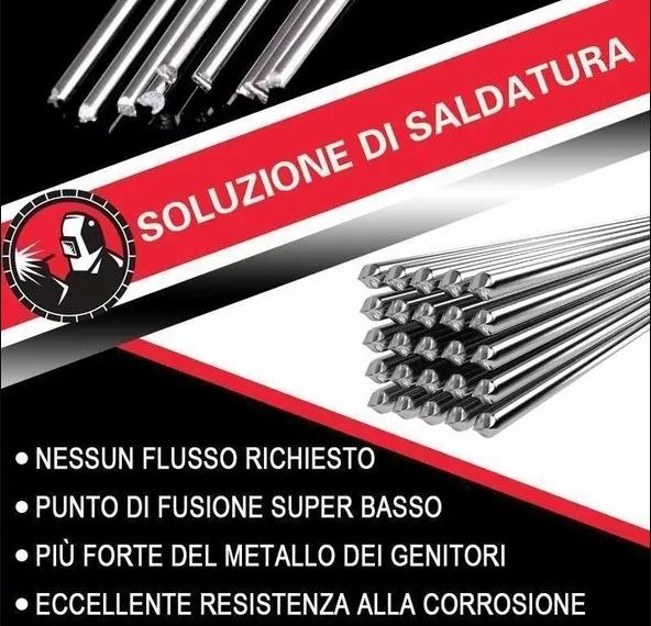 Easy Melt Welding Rods-Excellent Corrosion Resistance