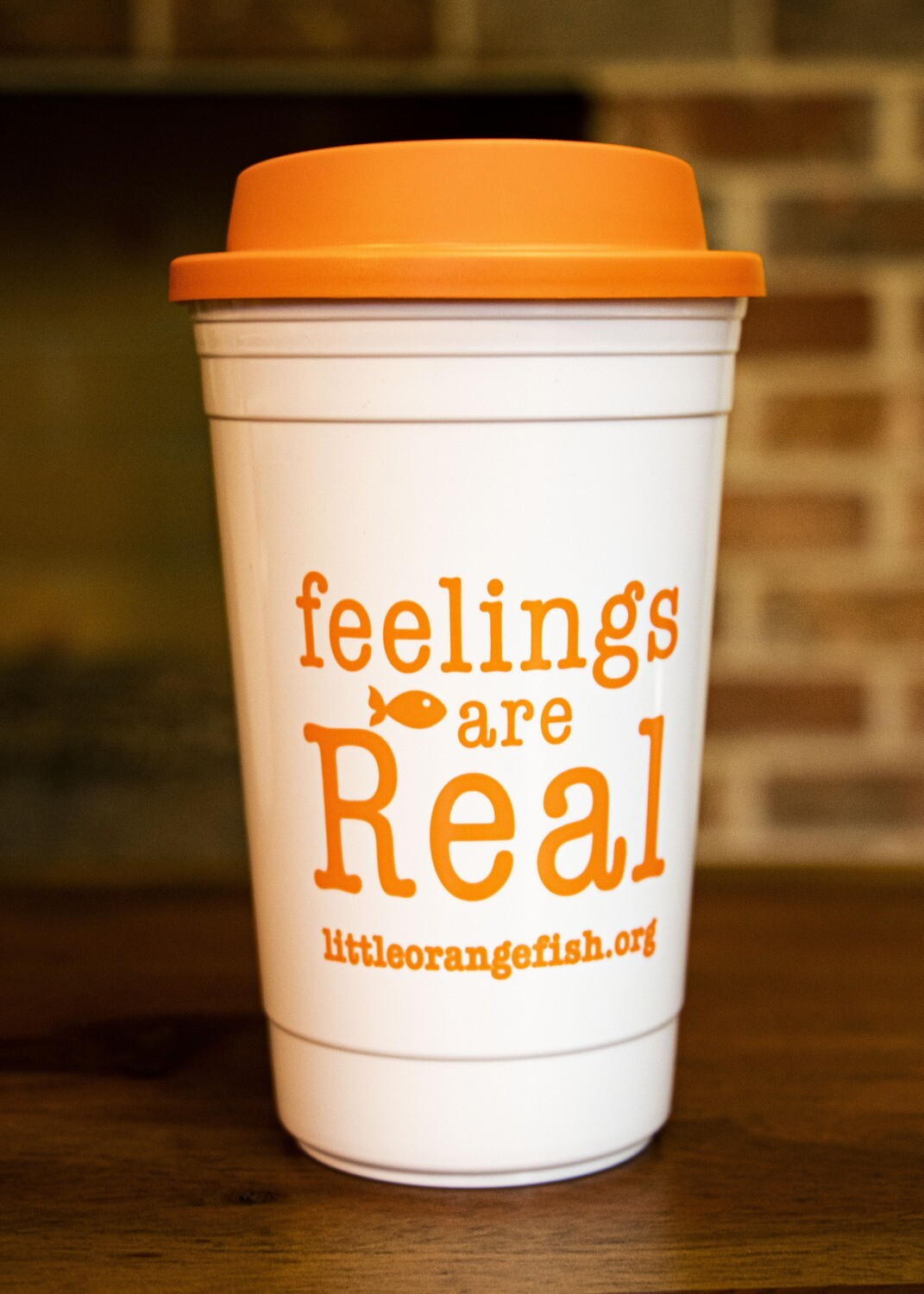 feelings are Real / 16 oz. Thermos