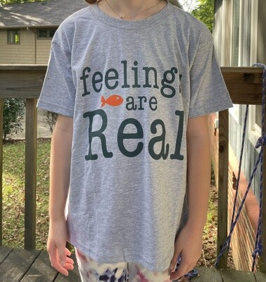feelings are Real / Youth tees