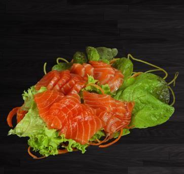 Sashimi Saumon 6 pièces