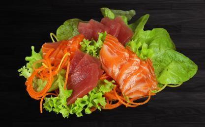 Sashimi Saumon Thon 15 pièces