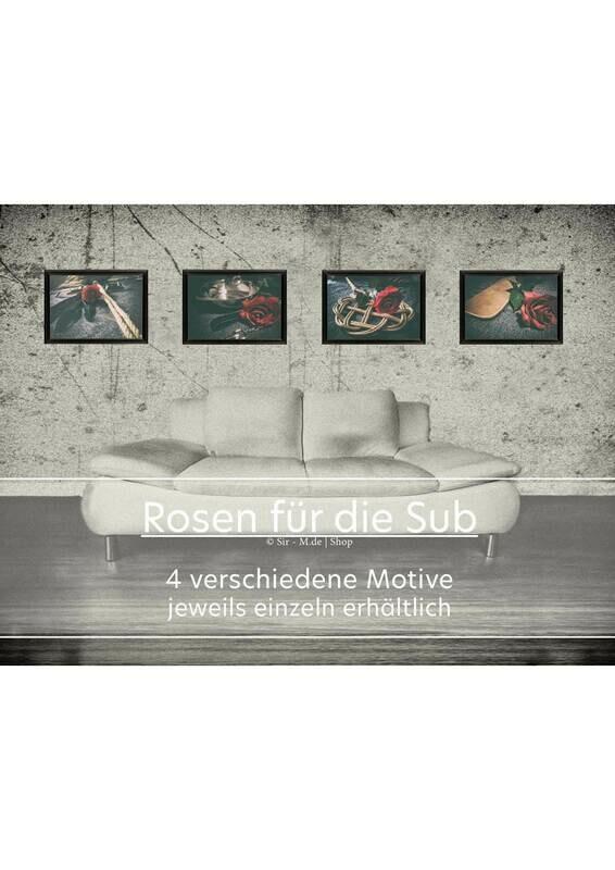 A3 Fotodruck - Rosen für die Sub