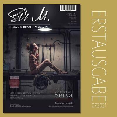 Sir M - Magazin / Erstausgabe