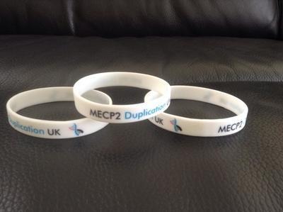 MECP2 Duplication UK Wristband