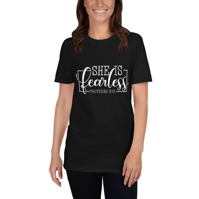 Unisex T-Shirt She is Fearless