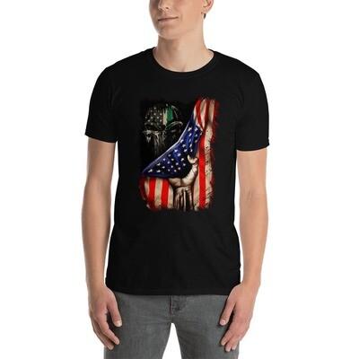 Unisex T-Shirt - Molon Labe Gadson Flag
