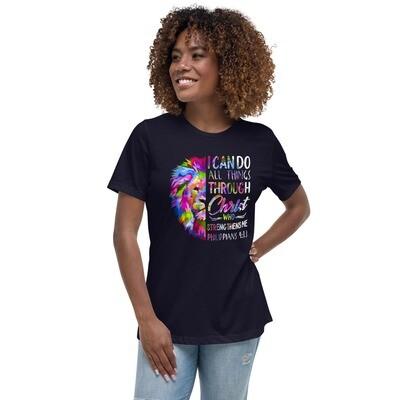Women's Relaxed Premium T-Shirt - Lion