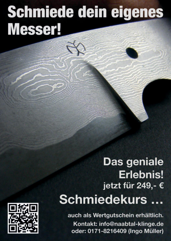 Workshop, .....schmiede Dein eigenes Messer.....