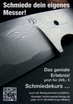 Workshop … schmiede Dein eigenes Messer …