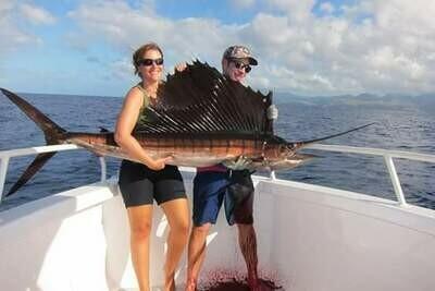 Journée pêche en mer